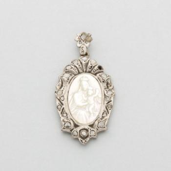 Symbol Of The Brand Espejo De Pared Blanco Plata Antiguo 41x32 Rectangular Barroca Espejo De Pasillo Espejos Arte Y Antigüedades