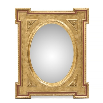 Frank Importante Antigua Espejo Del 700 Marco De La Dorada Época 18° Siglo Muebles Antiguos Y Decoración
