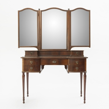 Muebles Antiguos Y Decoración Symbol Of The Brand Espejo De Pared Blanco Plata Antiguo 41x32 Rectangular Barroca Espejo De Pasillo